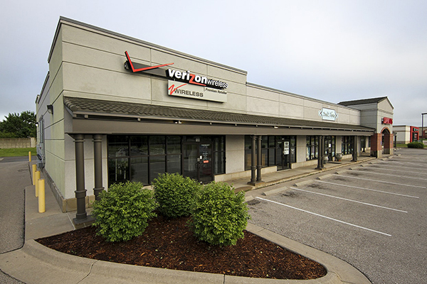 Anderson Management retail space for lease in Andover, KS.