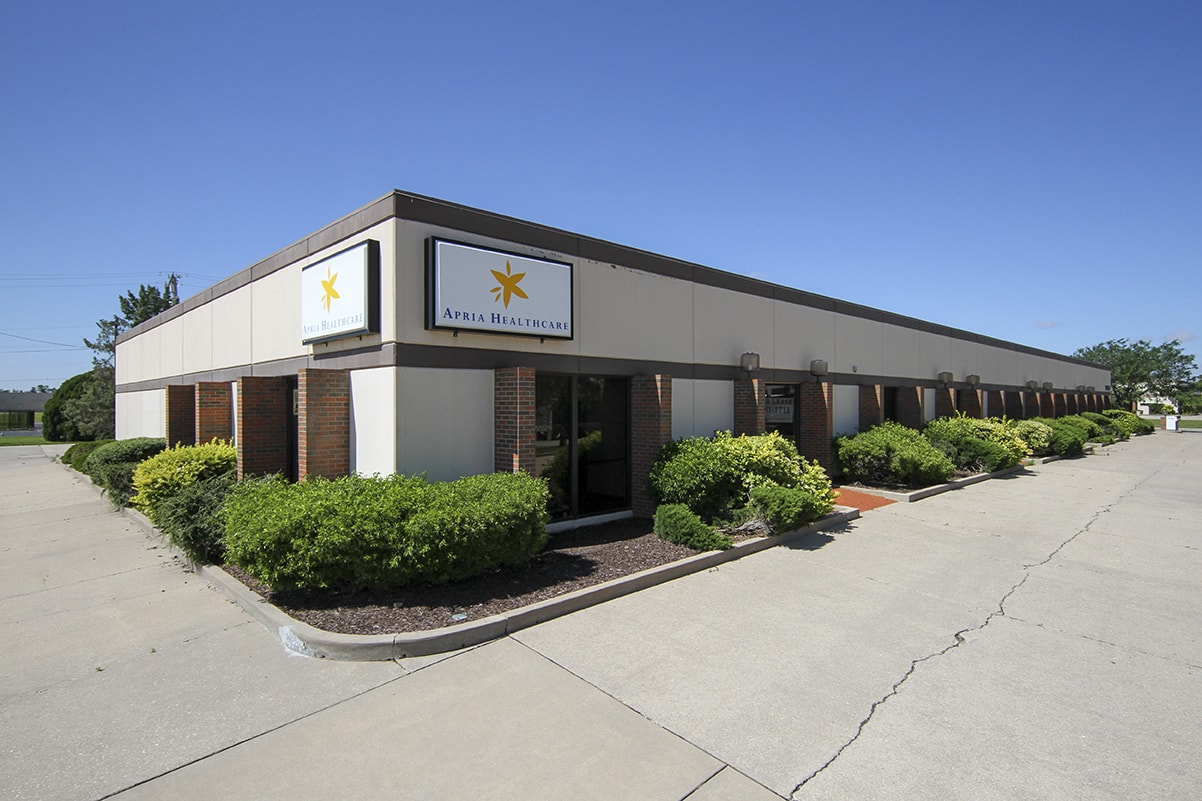 Anderson Management office rental in Wichita, KS.