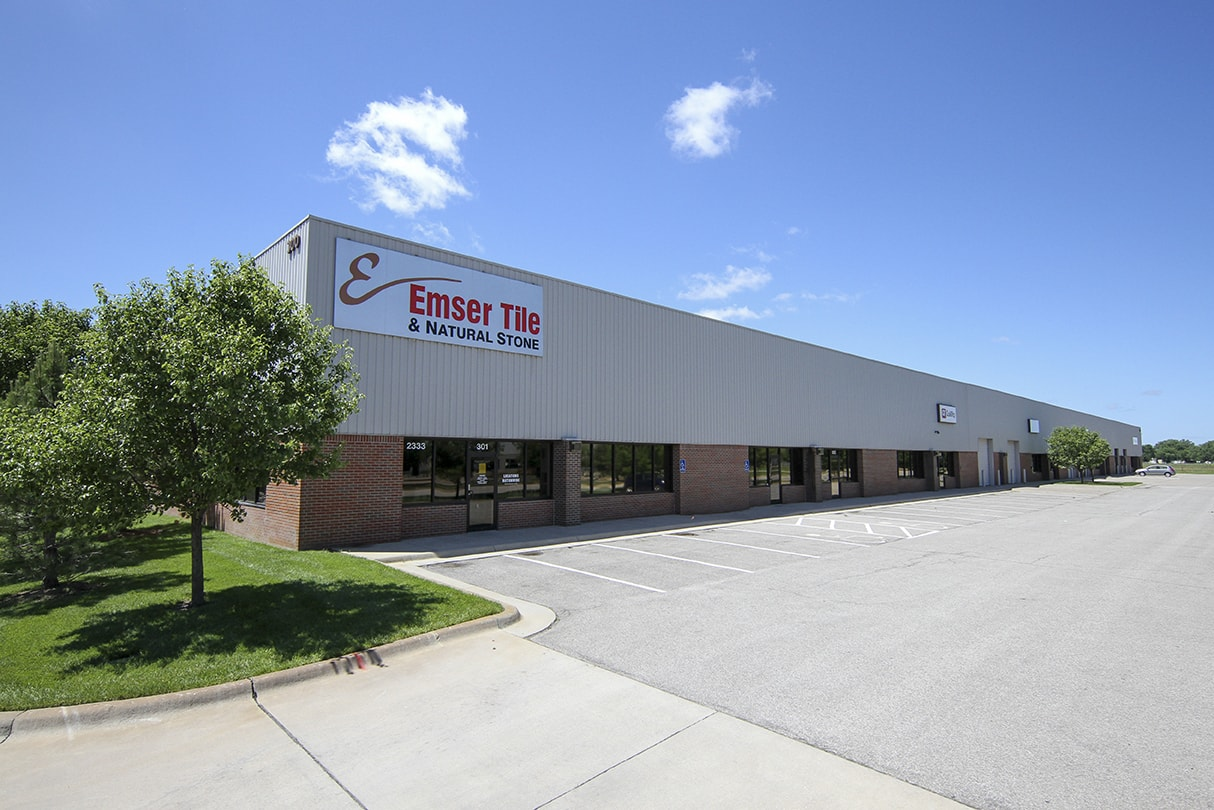 Anderson Management warehouse/office for lease in Wichita, KS.